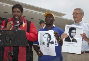 Rev. William Barber (left)