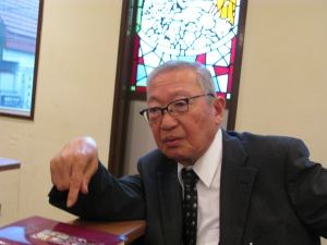 Rev. Sekita during our 2012 meeting