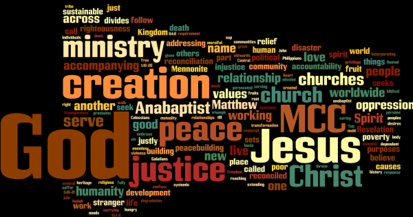 Literature about MCC values, depicted in a word cloud.
