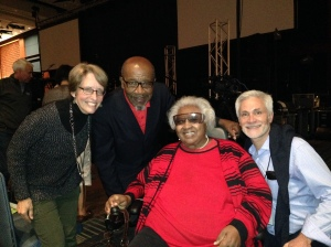 With John and Vera Mae Perkins.